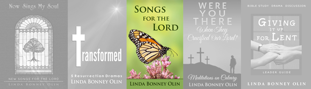 Book cover of Songs for the Lord by Linda Bonney Olin