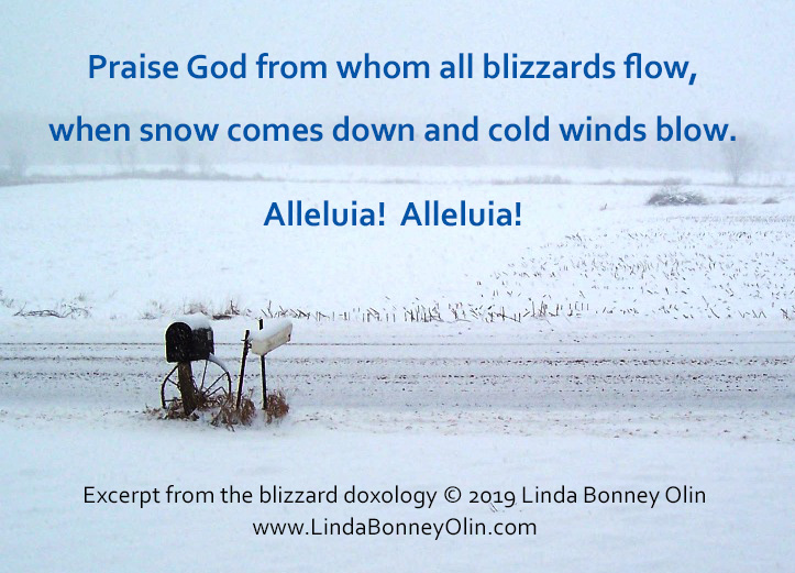 Praise God from Whom All Blizzards Flow